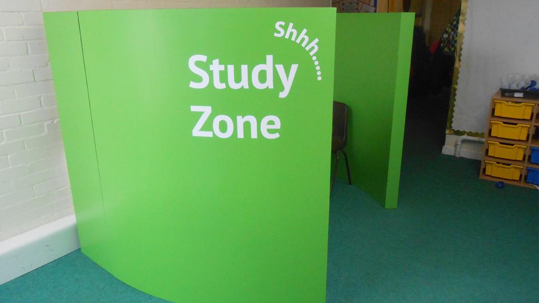 Study Zone Refurbishment